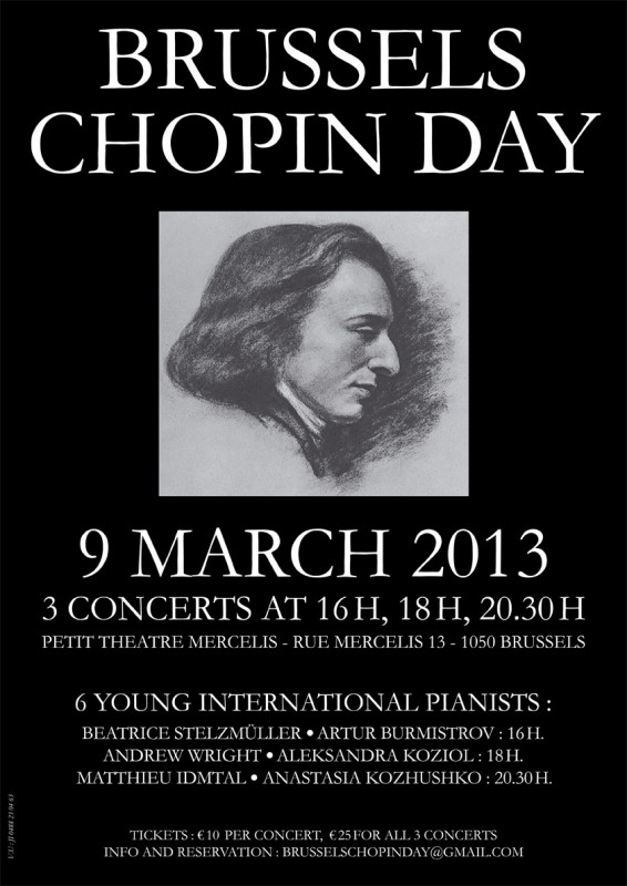 brussels chopin day